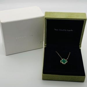 Van Cleef & Arpels Vintage Alhambra Necklace